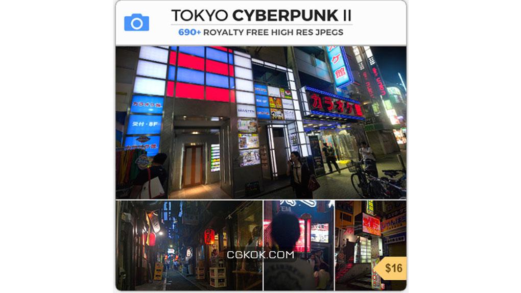 تصاویر رفرنس از سایبرپانک توکیو