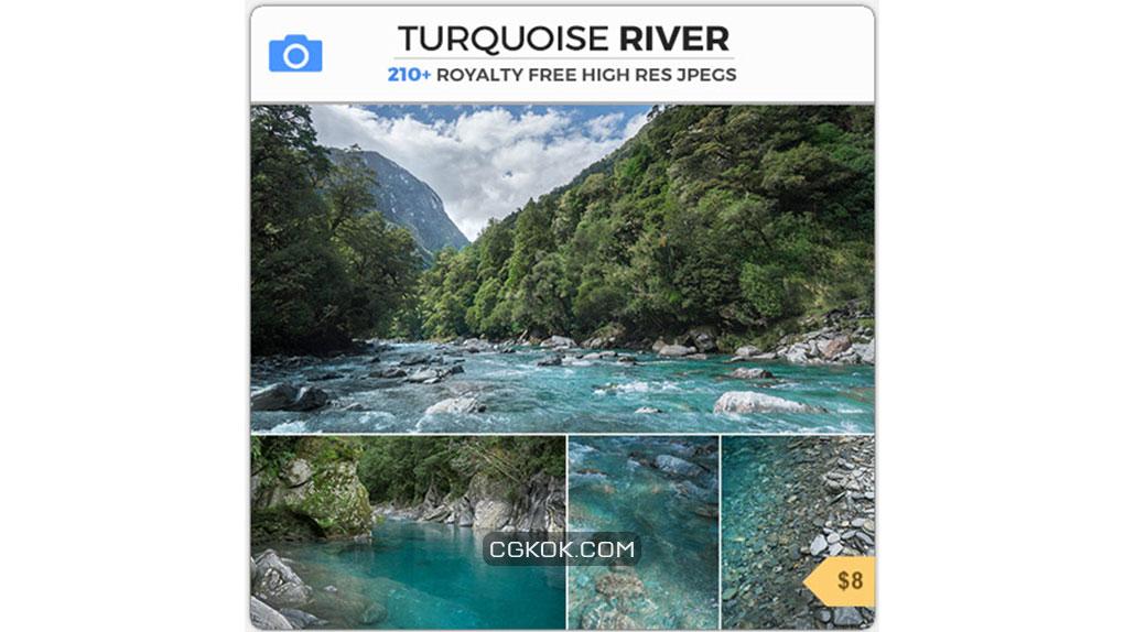 تصاویر رفرنس رودخانه فیروزه ایی
