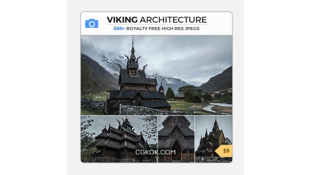 تصاویر رفرنس معماری وایکینگ ها
