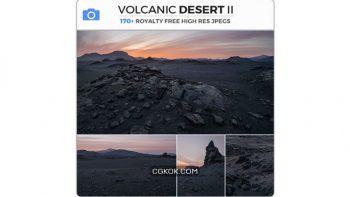 دانلود تصاویر رفرنس بیابان آتشفشانی