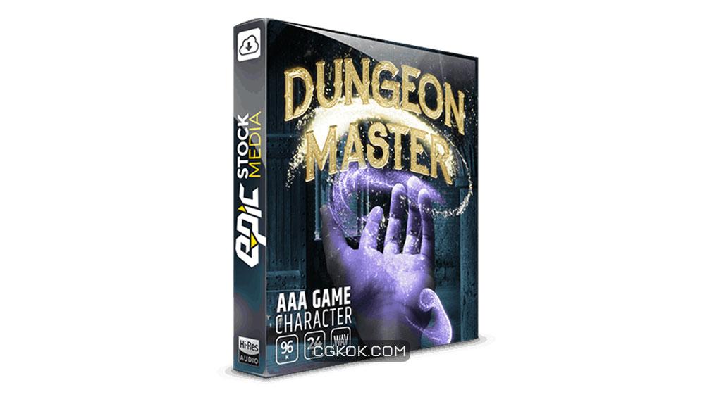 افکت صوتی کاراکتر بازی Dungeon Master