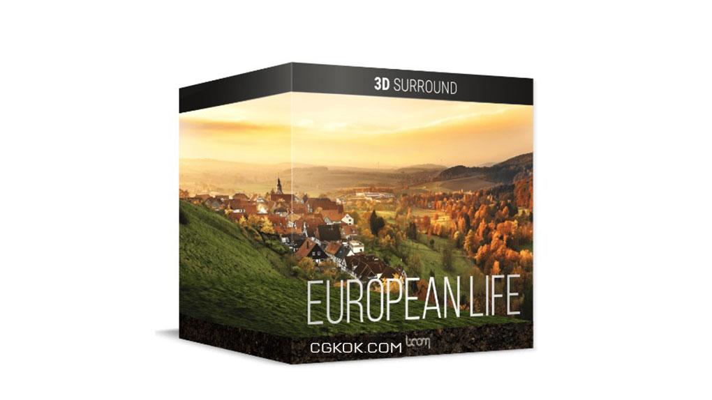 افکت صوتی زندگی اروپایی