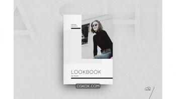 دانلود قالب آماده ایندیزاین لوک بوک Ashi – Lookbook