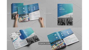 دانلود وکتور بروشور Bi-Fold Brochure