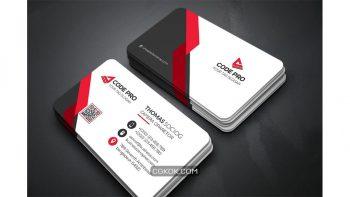 دانلود فایل لایه باز کارت ویزیت Business Card 26