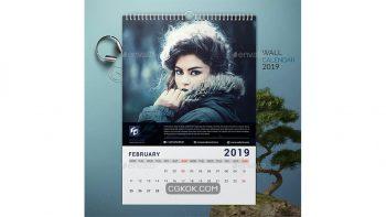 دانلود وکتور تقویم میلادی Calendar
