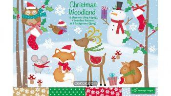 دانلود کلیپ آرت کریسمس Christmas clipart