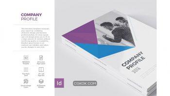 دانلود قالب ایندیزاین Company Profile 22 Pages