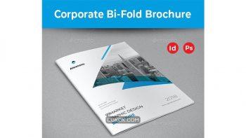 دانلود قالب ایندیزاین بروشور Corporate Bifold Brochure