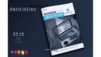 دانلود وکتور بروشور شرکتی Corporate Brochure