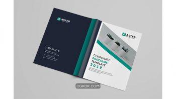 دانلود قالب ایندیزاین بروشور شرکتی Corporate Brochure Template