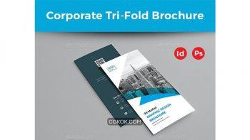دانلود فایل لایه باز بروشور شرکتی Corporate Trifold Brochure