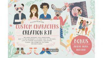 دانلود جعبه ابزار ساخت کاراکتر کارتونی Custom Characters Creation Kit