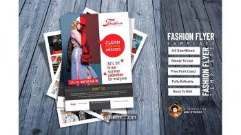 دانلود فایل لایه باز تراکت مد و فشن Fashion Flyer Template