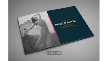 دانلود قالب ایندیزاین مجله عکس Portfolio Photo Book