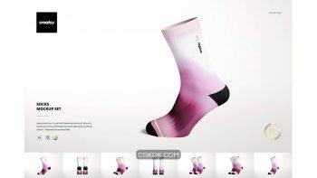 دانلود موکاپ جوراب Socks Mockup Set